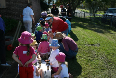 Kids in the Garden!