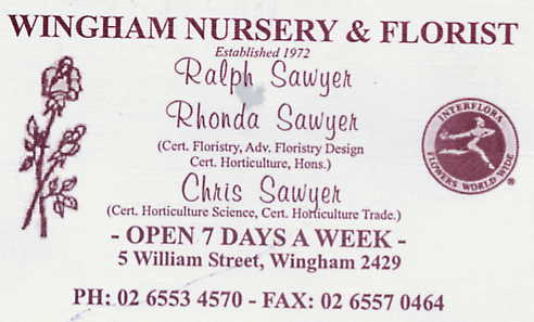 Wingham Nursery and Florist