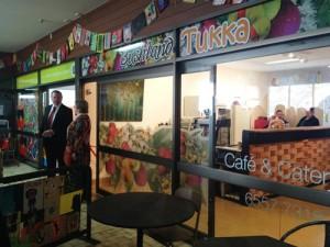 Bushland Tukka Cafe Opening